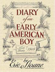 Diary of an Early American Boy - Sloane