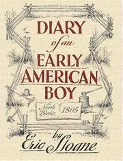 Diary of an Early American Boy - Sloane