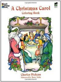 Christmas Carol Coloring Book Dover